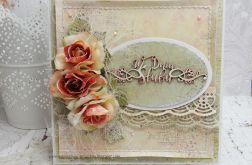 W dniu ślubu 1 - kartka z pudełkiem