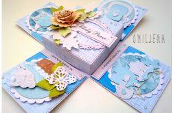 Urocza karteczka ślubna - wyjątkowe pudełko