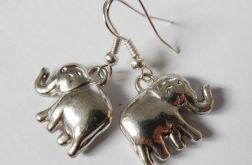 Kolczyki zawieszki 058 słonie