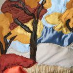 Jesienna impresja - różne tkaniny