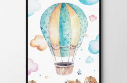 Plakat, obrazek balon 50X70 B2