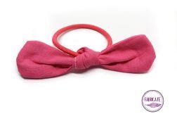 Gumka do włosów - różowy - Fabricate