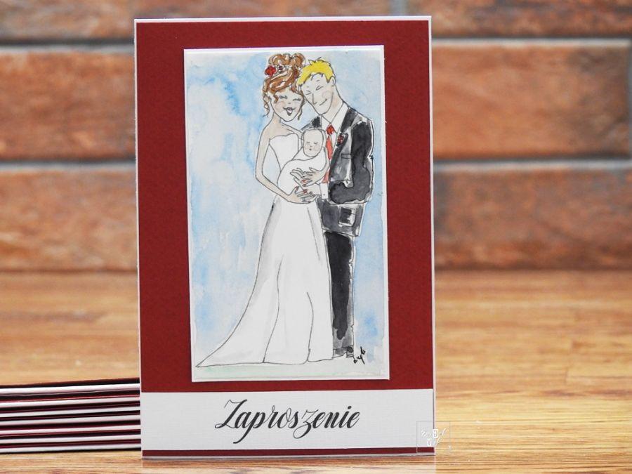 Zaproszenia ślubchrzest Daget Art