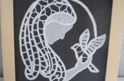 Maryja z gołąbkiem - obrazek