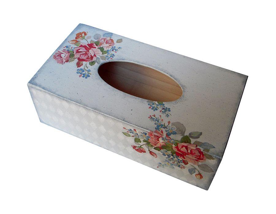 BUKIETY RÓZ - pudełko na chusteczki - BUKIETY RÓŻ -chustecznik, pudełko na chusteczki