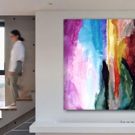 Abstrakcja - Obraz na płótnie