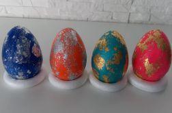 Zestaw 4 jajek 9cm
