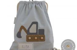 plecak worek do przedszkola z imieniem kopa