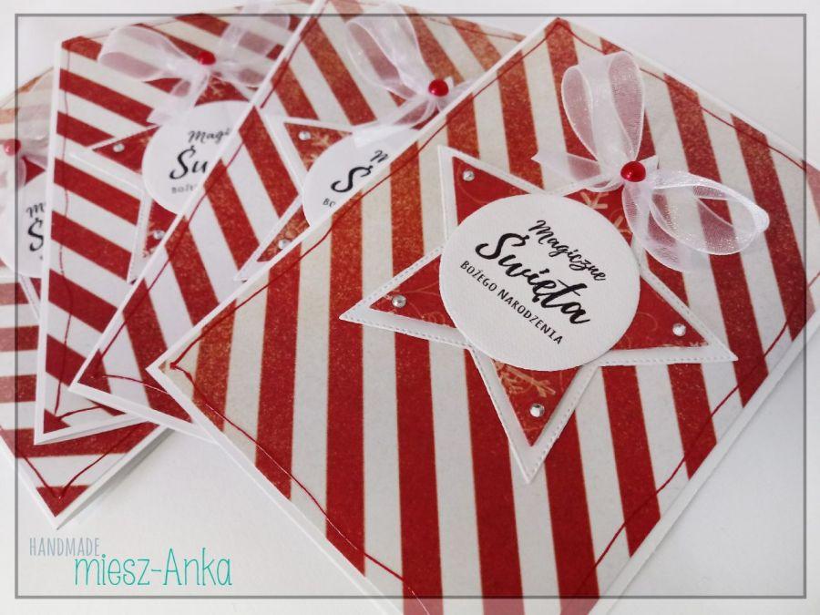 Wyjątkowe KARTKI ŚWIĄTECZNE - 22 - Boże Narodzenie, choinka, stajenka, szopka, święta rodzina, okolicznościowe