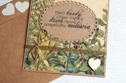 kartka ślubna :: leśne życzenia II