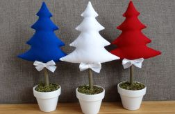 Trzy choinki stroik świąteczny*