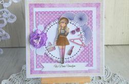 Kartka urodzinowa dla dziewczynki K&L GOTOWA