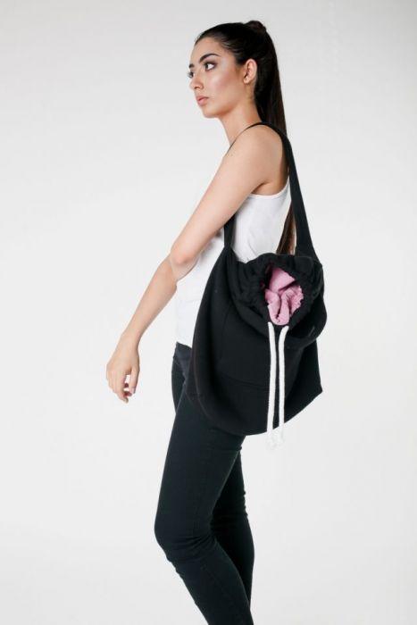 torba dresoowa na zakupy czarna