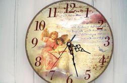Zegar Ścienny Aniołki