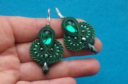 Kolczyki sutasz Green - Emerald