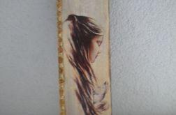Dziewczyna  z motylem- deska