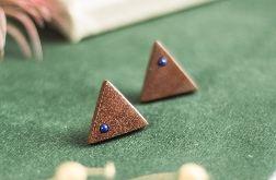 Kolczyki z lapisem lazuli