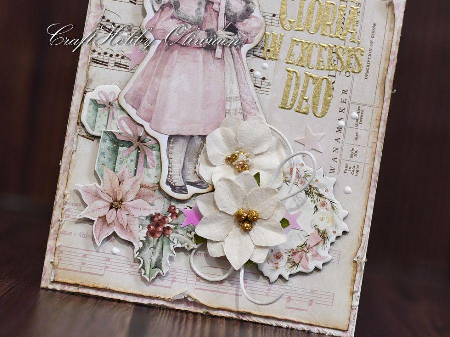 Gloria in excelsis - dziewczynka vintage - Gloria - detal II