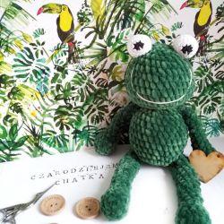 Pluszowa żaba Aleksandra