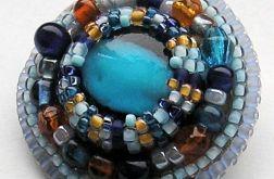 szkło weneckie blue & orange