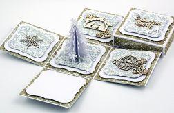Świąteczny exploding box #1