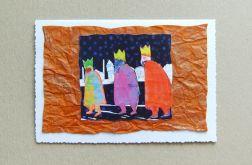 Kartka świąteczna - trzej królowie-nr 3