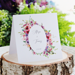 Oryginalne Zaproszenia ślubne akwarele 2