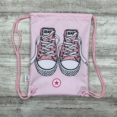 Worek Różowe trampki dla przedszkolaka