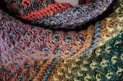 mozaikowa chusta kolorowa