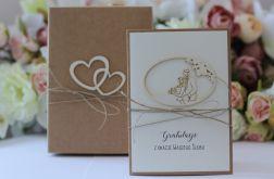 Stylowa kartka ślubna 12