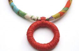 Naszyjnik bawełniane liny Mie