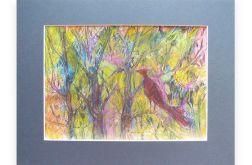 Dziki ogród nr 3 - kolorowy rysunek