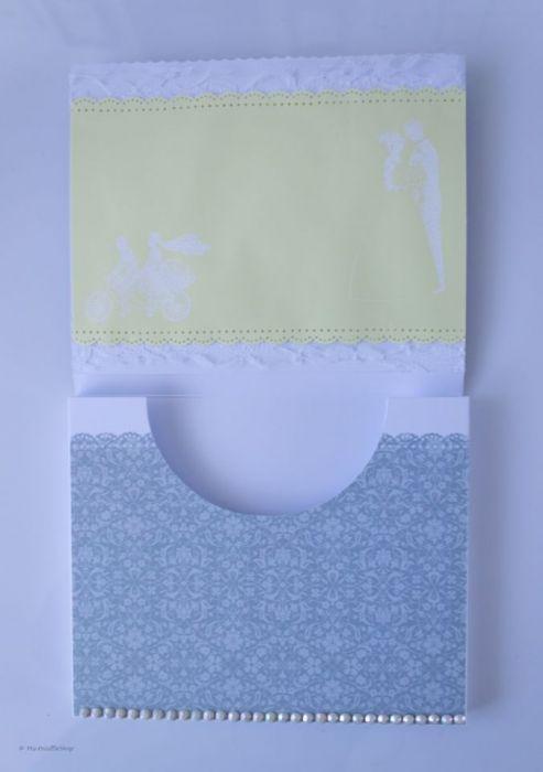 Kartka Czekoladownik na Merci W dniu ślubu - Wnętrze