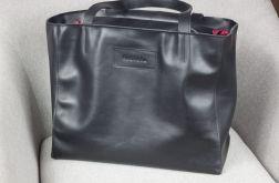 Skórzana Shopper II black classic L/d