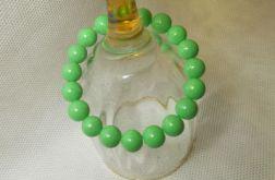 6.Bransoletka ze szklanych koralików 10mm