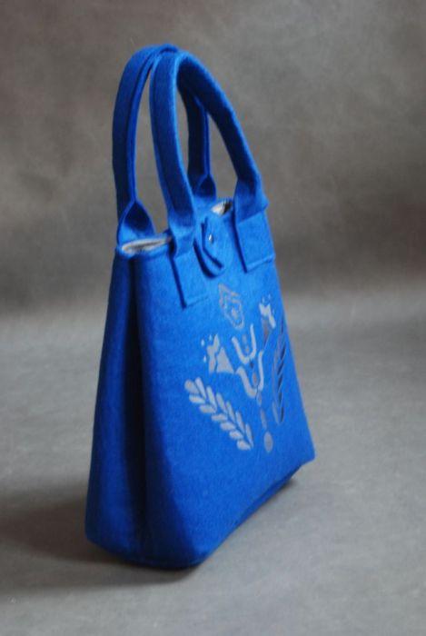 Blue Folk Tulip