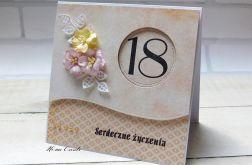 Kartka na 18 #10#