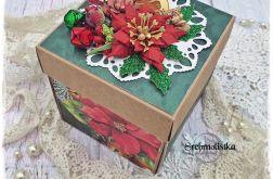 Pudełko Exploding box świąteczne v.1