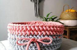 Koszyczek ze sznurka koszyczek na szydełku