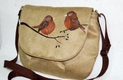 Listonoszka malowane ptaki