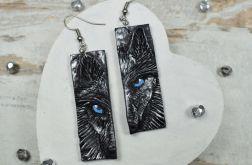 Kolczyki wilki - oryginalne kolczyki wiszące