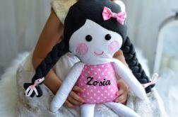 Lalka szmacianka z imieniem dziecka