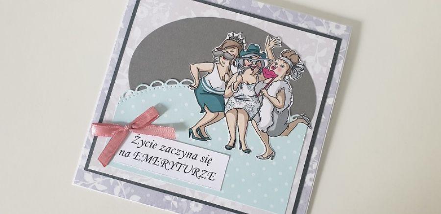 Kartka z okazji przejścia na emeryturę
