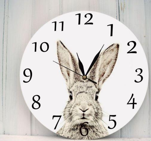 Zegar Ścienny Zając Las Natura