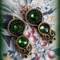 Kolczyki w soczystej zieleni