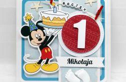 Kartka z myszką Miki na urodziny UDP 034