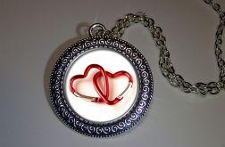 Wisiorek Walentynkowe serca
