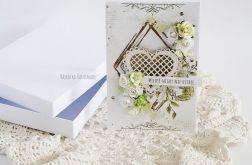Kartka ślubna w pudełku, 446