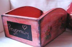 Morelowe pudełko na przyprawy