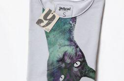 MEOW koszulka z kotem kot